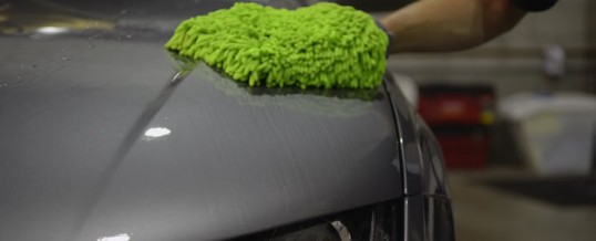 El arte de lavar un auto
