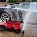 El arte de lavar un auto5